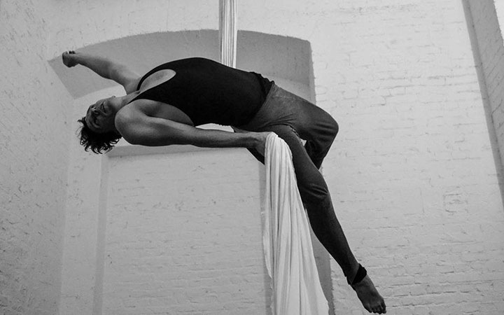 Aerial Silk Workshops mit Matho