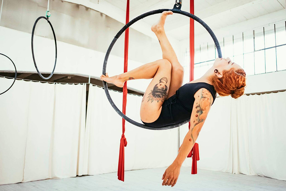 Aerial Hoop Basics Workshop 14.04.2018
